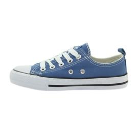 American Club American trampki buty dziecięce tenisówki blue niebieskie 2