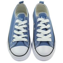 American Club American trampki buty dziecięce tenisówki blue niebieskie 3