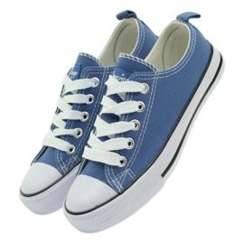 American Club American trampki buty dziecięce tenisówki blue niebieskie 4