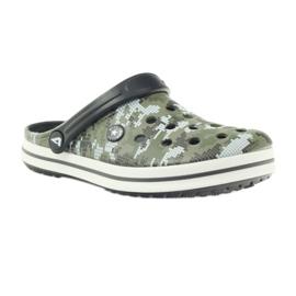 American Club Kroksy clogsy klapki sandały moro białe czarne zielone 1