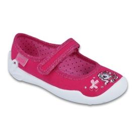Befado obuwie dziecięce 114X299 różowe 1