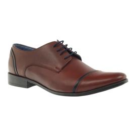 Pantofle męskie VENI VICI 149 brązowe 1
