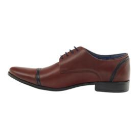 Pantofle męskie VENI VICI 149 brązowe 2
