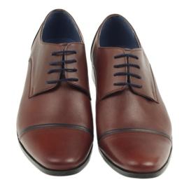 Pantofle męskie VENI VICI 149 brązowe 3