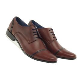Pantofle męskie VENI VICI 149 brązowe 4