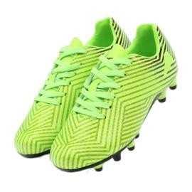 American Club American sportowe korki buty dziecięce 170601 zielone 4