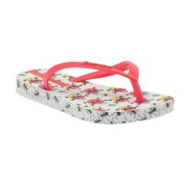 Klapki buty dziecięce japonki do wody Ipanema 81264 białe czerwone 2