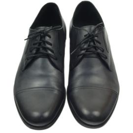 Półbuty buty męskie skórzane Pilpol 1674 szare 5
