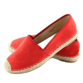 Espadryle klasyczne czerwone BB05P Red 2