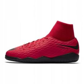Buty halowe Nike HypervenomX Phelon czerwone 1