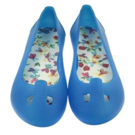 Bartek Balerinki buty dziecięce do wody 4/2096 niebieskie 3