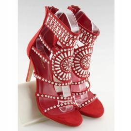 Sandałki gladiatorki czerwone GH-2776 Red 6