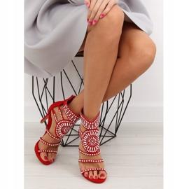 Sandałki gladiatorki czerwone GH-2776 Red 3