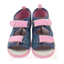 American Club American sandałki buty dziecięce wkładka skórzana 4