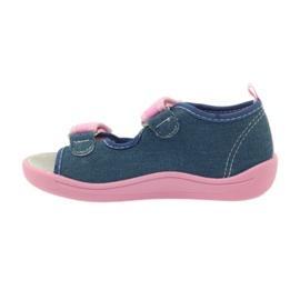 American Club American sandałki buty dziecięce wkładka skórzana 2