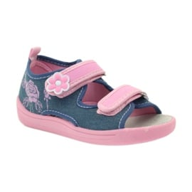 American Club American sandałki buty dziecięce wkładka skórzana 1