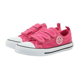 American Club American trampki tenisówki buty dziecięce różowe 3