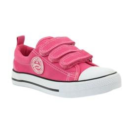 American Club American trampki tenisówki buty dziecięce różowe 1