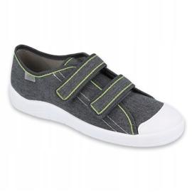 Befado obuwie młodzieżowe 124Q006 szare 1