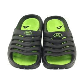 American Club American klapki buty dziecięce basenowe czarne 4