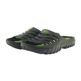 American Club American klapki buty dziecięce basenowe czarne 3