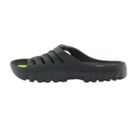 American Club American klapki buty dziecięce basenowe czarne 2