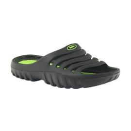 American Club American klapki buty dziecięce basenowe czarne 1