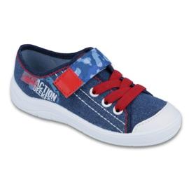 Befado obuwie dziecięce 251X101 niebieskie 1