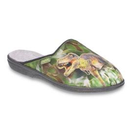 Befado obuwie młodzieżowe 201Q089 zielone 1