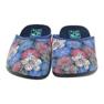 Kapcie w kwiaty 3D Adanex  kolorowe wielokolorowe 4