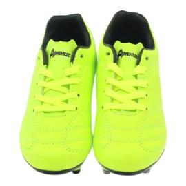 American Club American ADI sportowe korki buty dziecięce zielone BM46142 4