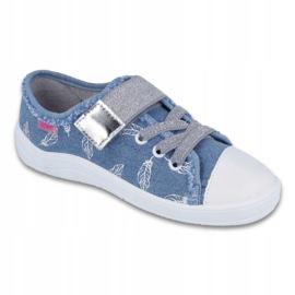 Befado obuwie dziecięce 251Y111 niebieskie 1