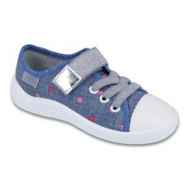Befado obuwie dziecięce 251X105 niebieskie 1