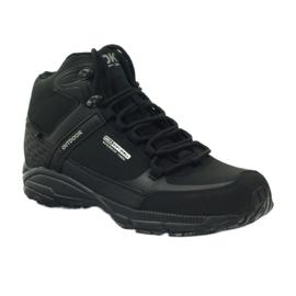 Buty trekkingowe softshell DK 1751 czarne 1