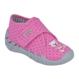 Befado  obuwie dziecięce 112P185 różowe 1