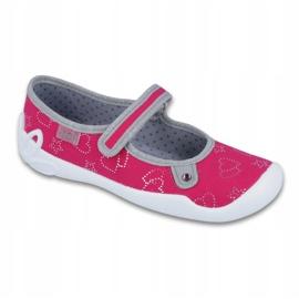 Befado obuwie dziecięce 114Y310 różowe 1