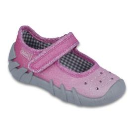 Befado obuwie dziecięce 109P171 różowe 1