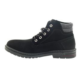 American Club American trapery buty zimowe trekkingi czarne 2