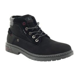American Club American trapery buty zimowe trekkingi czarne 1