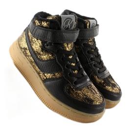 Dziecięce buty sportowe ocieplane k1646103 Oro brązowe 2