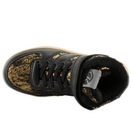 Dziecięce buty sportowe ocieplane k1646103 Oro brązowe 3