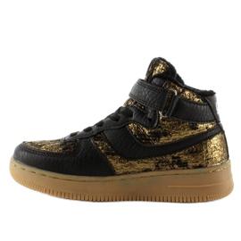 Dziecięce buty sportowe ocieplane k1646103 Oro brązowe 1
