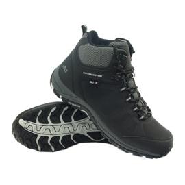 Mttrek Trekkingowe wiązane czarne MT TREK 051 6