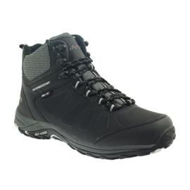 Mttrek Trekkingowe wiązane czarne MT TREK 051 4