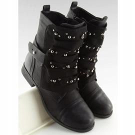 Botki militarne czarne 2194 Black 5