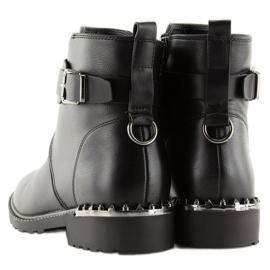 Botki damskie czarne G-168-1 Black 2