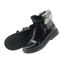American Club American kozaki botki buty zimowe 18015 czarne 4