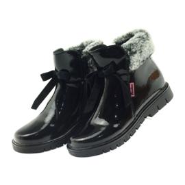 American Club American kozaki botki buty zimowe 18015 czarne 3