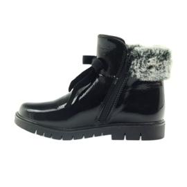 American Club American kozaki botki buty zimowe 18015 czarne 2