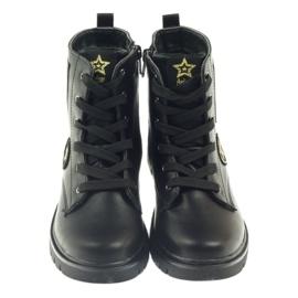 American Club American super Workery buty zimowe czarne żółte czerwone 3